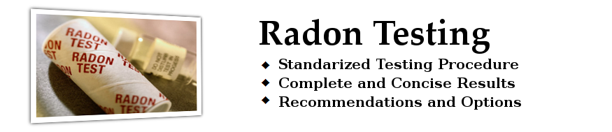 Radon Testing - Home Inspection - The Pearce Group